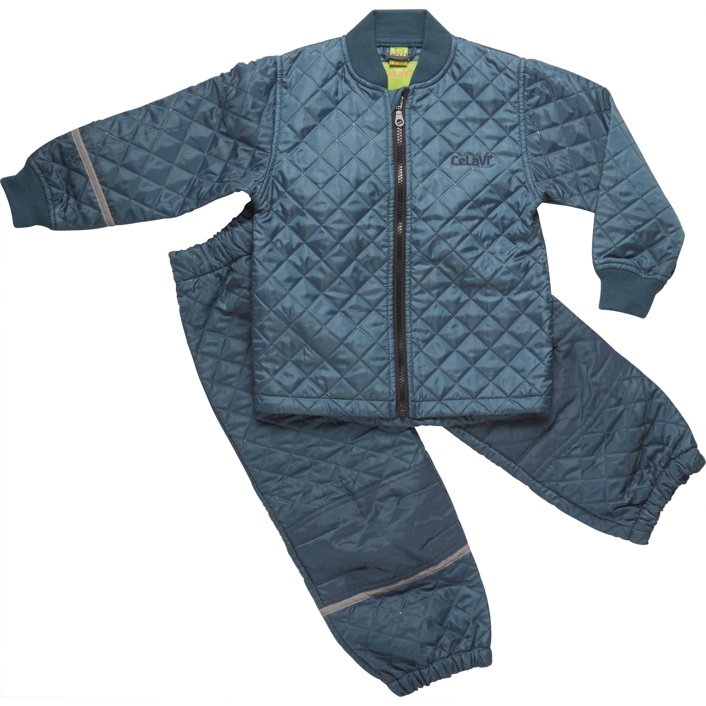 Prešívaná termo súprava detská z nohavíc a bundy CeLaVi – kopie