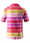 Detske tricko s UV ochranou, detske plavky vrchny diel Reima FIJI pre dievca (2)