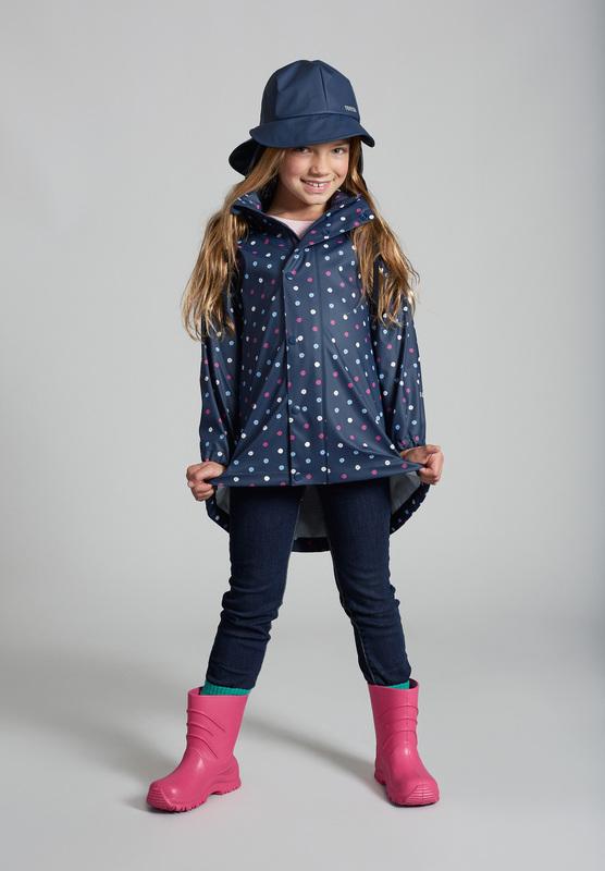 detsky klobuk nepremokavy tmavomodry Reima Rainy